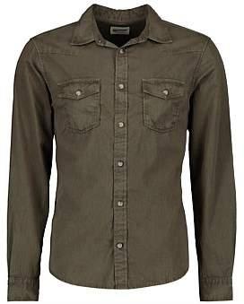 R & E RE: Twill Cotton Shirt