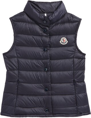 Moncler Liane Quilted Down Water Resistant Vest