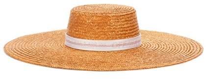 Off-White Straw hat