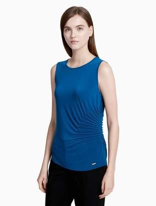 Calvin Klein matte jersey starburst cami top