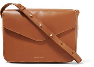 Mansur Gavriel Envelope Leather Shoulder Bag - Tan