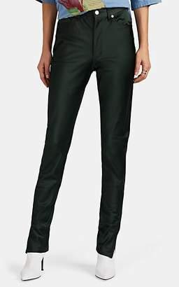 Undercover Women's Metallic Skinny Trousers - Dk. Green
