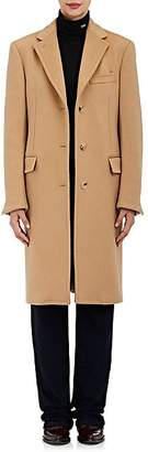 Calvin Klein Women's Brushed Wool Melton Coat - Cream