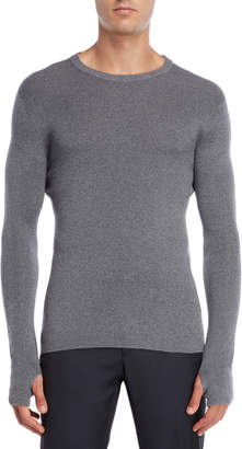 American Designer Grey Wool Sweater