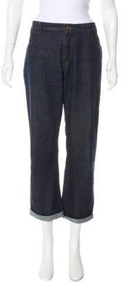See by Chloe Mid-Rise Straight-Leg Jeans