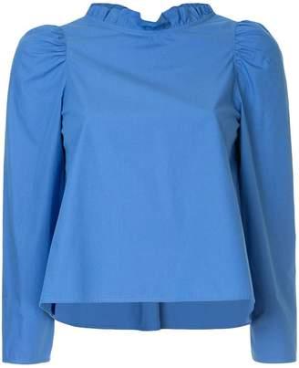 Atlantique Ascoli ruffled blouse