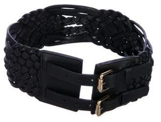 Altuzarra Braided Leather Waist Belt w/ Tags