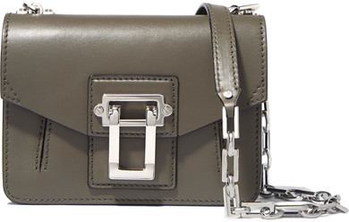 Proenza Schouler - Hava Mini Leather Shoulder Bag - Army green