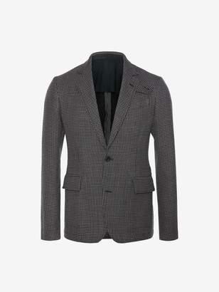 Alexander McQueen Dogtooth Deconstructed Jacket