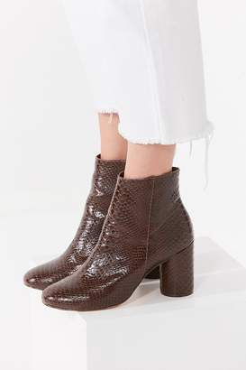 Urban Outfitters Sabrina Faux Snakeskin Ankle Boot