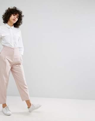 Weekday Tapered Wool Pants