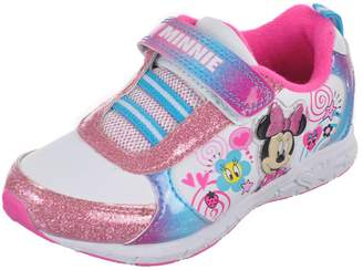 "Disney Minnie Mouse Girls' ""Swirly Sweet"" Sneakers - , 10 toddler"