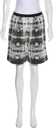Theyskens' Theory Printed Knee-Length Shorts