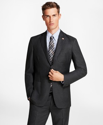 Brooks Brothers Regent Fit BrooksCloud Neat 1818 Suit