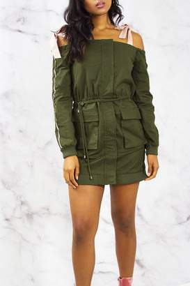 Endless Rose Cargo Jacket Dress