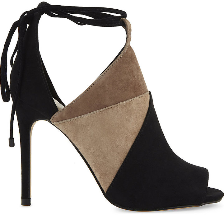 Aldo Saraa suede heeled sandals