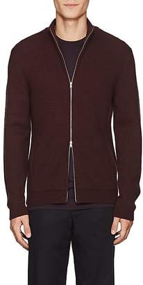 Theory Men's Merino Wool Zip-Front Sweater