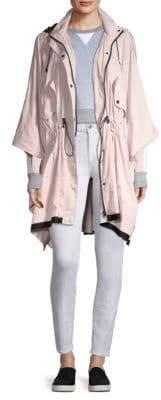Blanc Noir Stormie Hooded Poncho