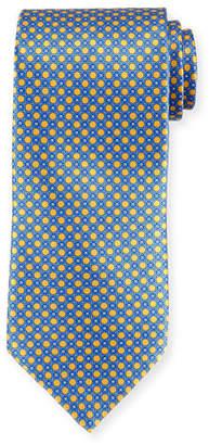 Stefano Ricci Medium Medallion Pattern Silk Tie