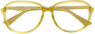Gucci round oversized glasses