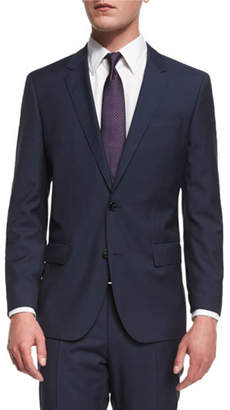 BOSS Huge Genius Slim-Fit Basic Suit, Navy