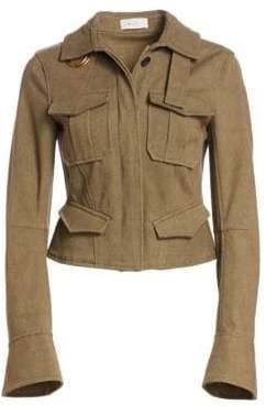 A.L.C. (エーエルシー) - A.L.C. A.L.C. Women's Lorimer Cargo Jacket - Army - Size 00