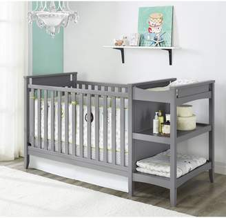 Baby Relax Emma 2-in-1 Convertible Crib with Changing Table