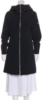 Dawn Levy Knee-Length Quilted Coat