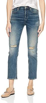 Calvin Klein Jeans Women's High Rise Ankle Skinny Denim