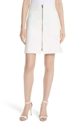Diane von Furstenberg Patch Pocket Miniskirt