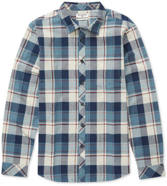 Billabong Big Boys Coastline Cotton Flannel Shirt
