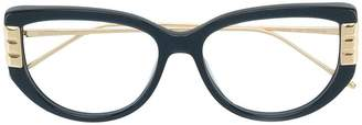 Boucheron Eyewear cat eye oversized glasses