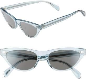 Oliver Peoples Zasia 53mm Cat Eye Sunglasses