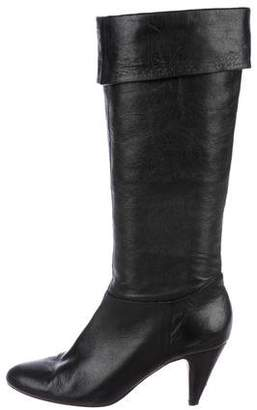 Cynthia Vincent Leather Knee-High Boots