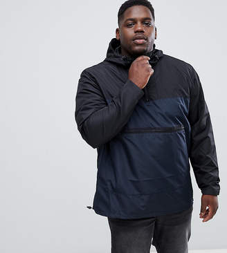 French Connection PLUS Contrast Windbreaker