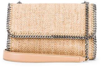 Stella McCartney Rafia Falabella Shoulder Bag in Natural | FWRD