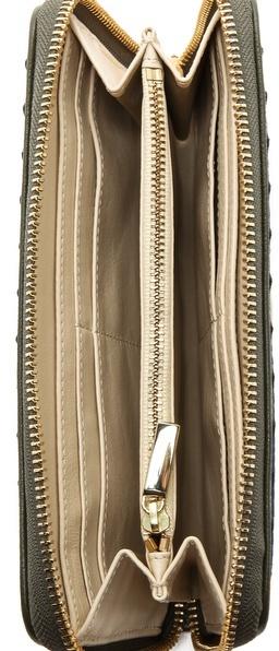 Tory Burch Robinson Zigzag Continental Wallet