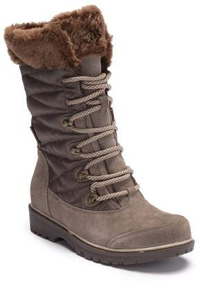 Bare Traps BareTraps Satin Faux Fur Boot