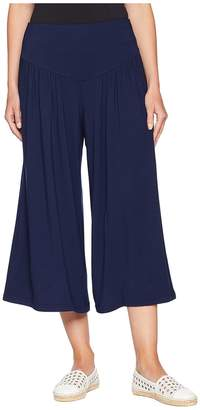 BB Dakota Lazy Sunday French Terry Cropped Wide Leg Pants Women's Casual Pants