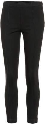 The Row Lavriez skinny cotton pants