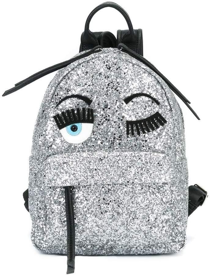 Chiara Ferragni 'Flirting' glitter backpack