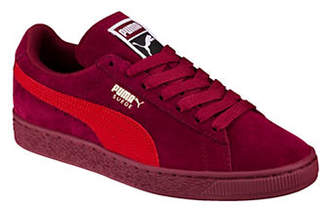Puma Classic Suede Logo Low-Top Sneakers