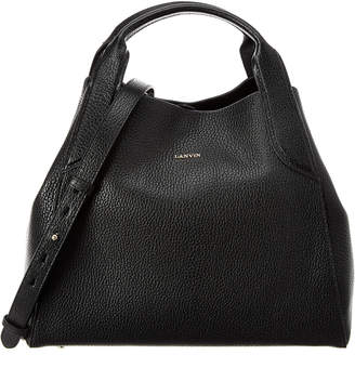 Lanvin Small Cabas Leather Hobo