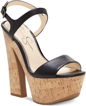Jessica Simpson Divela Platform Sandals Women's Shoes