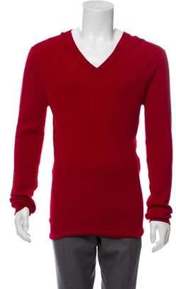 Dolce & Gabbana V-Neck Wool Sweater