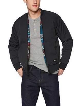 Hurley Men's Indo Souvenir Bomber Jacket