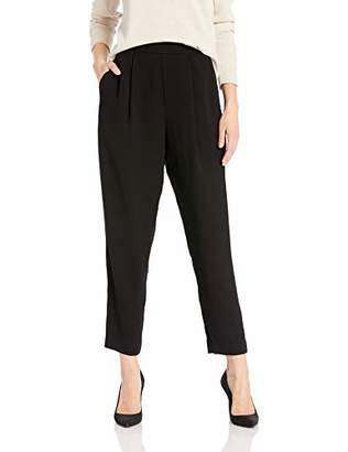 BCBGMAXAZRIA Women's Pleated Crop Pant