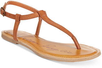 American Rag Krista T-Strap Flat Sandals, Only at Macy's Women's Shoes $29.50 thestylecure.com