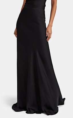 Juan Carlos Obando Women's Washed Satin Skirt - Black