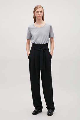 Cos Silk jersey T-shirt